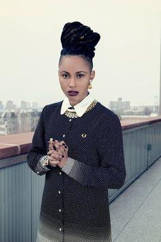 Black Girls Killing It — devoutfashion: MAKE-UP | PAM ROBES HAIR | KIM...