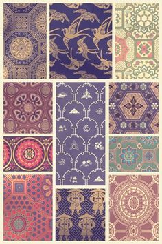 Japanese Patterns #3 ~ Fine-Art Print - Asian Culture Art Prints and Posters - Asian Culture Pictures