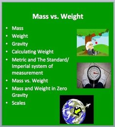 This lesson package compares and contrasts Mass and Weight in a clear and concise manner.  First it introduces students to the concepts of mass, weight and gravity.  It then provides worked examples on how to calculate weight using the metric and imperial/standard systems.
