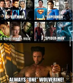 there is only one wolverine!