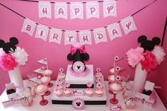 "Photo 4 of 30: Minnie Mouse Pink / Birthday ""Minnie Mouse Pink"" 