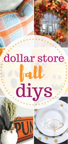 Dollar Store DIY Projects, Dollar Store DIYs for Fall, Fall Decor, DIY Fall Decor, Fall DIYs