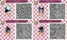 motifs Disney - Animal Crossing new leaf