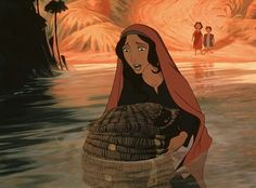 "Moses' mother, Jocheved, from ""The Prince of Egypt"" Ofra Haza is her singing voice."