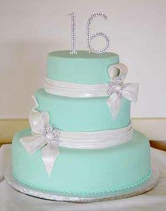 birthday cakes 16 | Sweet 16 Birthday Cake : Jeseca Creations