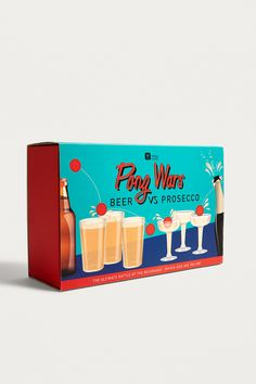Pong Wars: Beer vs. Prosecco Game | Urban Outfitters