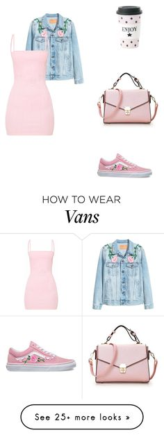 """Без названия #134"" by yourdearvictoria on Polyvore featuring H&M, Miss Étoile and Vans"