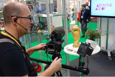 The TCT Plus Personalize Show, 2014 World Cup 3D Printed Replica 24K Gold