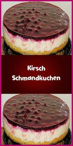 Cherry sour cream cake-Kirsch Schmandkuchen Ingredients For the dough: 100 g butter 100 g sugar 100 g flour 1 tsp baking powder 2 egg (s) 1 pinch (s) salt For the topping: (pudding … - Red Wine Gravy, Onion Pie, Cake Recipes, Dessert Recipes, Sour Cream Cake, Flaky Pastry, Mince Pies, Cake Ingredients, Food Cakes