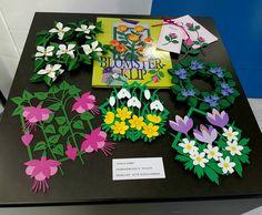 Paperflowers from my book Blomsterklip