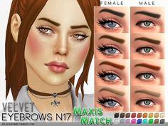 Sims 4 CC's - The Best: Augenbrauen / Eyebrow