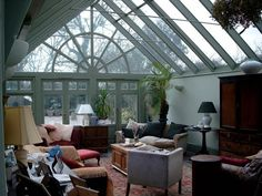 Enjoy the natural light of an orangery for reading, relaxing or entertaining friends