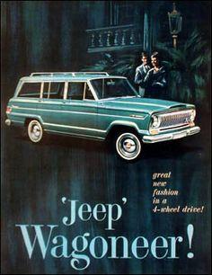"Classic Ad Serving as ""Fashion Wagon"" Inspiration..."