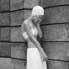 model: Malika Malwina  designer: Grazyna Pander-Kokoszka style: me scan medium format
