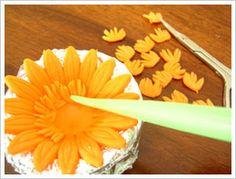 Gum Paste Gerbera Flower Tutorial