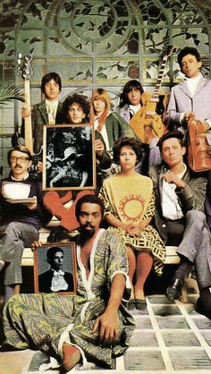 "Gilberto Gil, Caetano Veloso, Tom Zé, Os Mutantes and Gal Costa ""Tropicália: ou Panis et Circencis"""