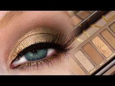 Golden Brown Smokey Eye | UD Naked Palette + MAC Dupes!