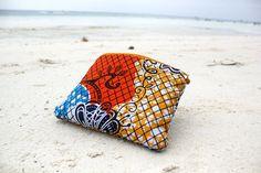 Pochette Aruba  Tissu africain par DorianeDesign sur Etsy