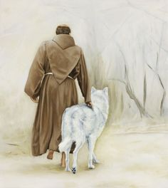 Image detail for -St. Francis and the God-Fearing Wolf