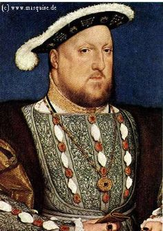 Henry VIII  by Hans Holbein d.J.