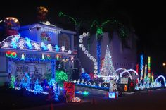 405 best CHRISTMAS LIGHT DISPLAYS images on Pinterest in 2018 ...