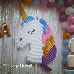 Decoración unicornio.