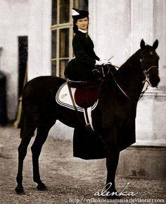 Sisi on horseback by VelkokneznaMaria on DeviantArt