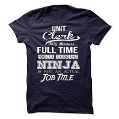 Unit Clerk T Shirt, Hoodie, Sweatshirt
