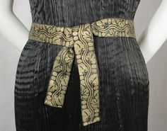 Fortuny belt detail from the Vintage Textile archives.