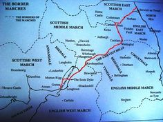 Here is my own map of the Border Marches showing the Debateable land in some kind of context