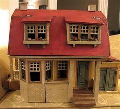 Susan's Mini Homes: I got Gottschalk! Antique Dollhouse!