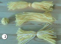 Diy Chicken of woolen yarn – Of course, I love handicrafts Chicken Crafts, Diy Crafts For Home Decor, Baby Chickens, Felt Birds, Easter Treats, Green Day, Yarn Crafts, Free Knitting, Handicraft