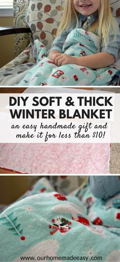29 Trendy sewing projects for kids blankets fabrics Winter Blankets, Kids Blankets, Soft Blankets, Fleece Blankets, Receiving Blankets, Diy Christmas Blankets, Crochet Blankets, Sewing Projects For Beginners, Sewing Tutorials