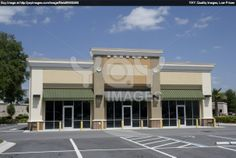 strip centers | small beige strip mall