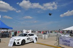Lindsay Lexus representing at the Andrews Air Show over the weekend.  #Lexus #RC #Fsport  http://www.lindsaylexusofalexandria.com/VehicleSearchResults?model=RC%20350&search=new&pageNumber=1&visitedVD=true
