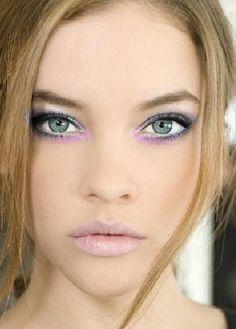 "Pastel makeup. This is a little ""crazy"", not something you could wear day-to-day, but still pretty!"