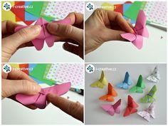 motýl z papíru Origami, Paper Crafts, Butterfly, Jar, Freckles, Tissue Paper Crafts, Paper Craft Work, Origami Paper, Papercraft