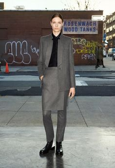 Givenchy pre-fall 2013. Saint-Laurent allows ourselves to wear pants instead skirts. We want to wear both. So what ?