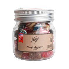Drops: Nostalgiske på Norgesglass (liten) - Hyttefeber.no Mason Jars, Glass, Products, Drinkware, Corning Glass, Mason Jar, Yuri, Gadget, Glass Jars
