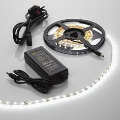Biard 5 Metre 300 LED Cool White 3528 Strip Lights Kit With Power Supply