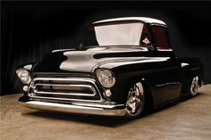 57 C6 Chev Pick-up.. a thing of beauty.