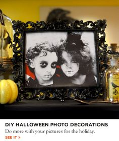 Fanciful Ways to Use Halloween Photos