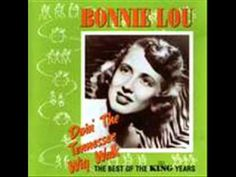 Bonnie Lou - Teardrops Falling In The Snow
