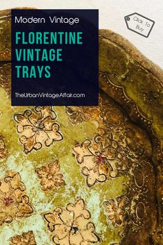 Shop our colourful collection of traditional vintage and antique papier mache and Florentine trays. All stunning decorative serving trays available online. Serving Tray Decor, Wedding Planning, Wedding Ideas, Antiques For Sale, Wedding Table Settings, Coffee Set, General Store, Vintage Gifts, Silk Flowers