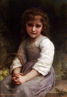 Apples (William Bouguereau - 1897)