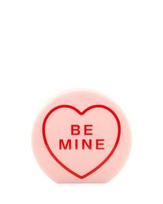 "Arm Candy ""Be Mine"" Acrylic Clutch Bag, Candy by Charlotte Olympia at Neiman Marcus."