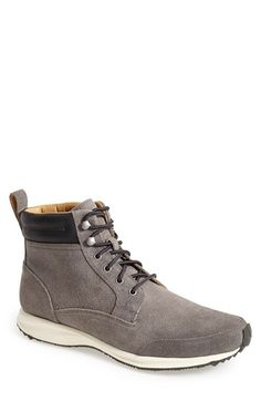Cole Haan 'Branson' Waterproof Suede Sneaker Boot (Men) available at #Nordstrom