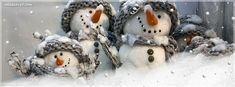 Cute Snowman Facebook Covers, Cute Snowman FB Covers, Cute Snowman Facebook Timeline Covers, Cute Snowman Facebook Cover Images