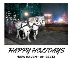We Love The New Haven Green this Time of Year! Happy Holidays New Haven to You and Yours From The AH-BEETZ Family. #ahbeetz #newhaven