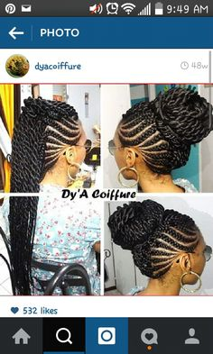 Braids. Cornrows. Mohawk